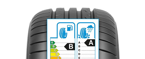 Every Dunlop tyre features a standardised EU tyre label