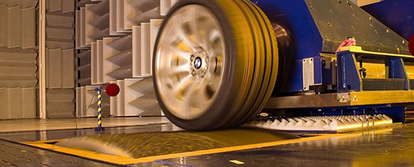 Every new Dunlop tyre goes through 50 vigorous tests